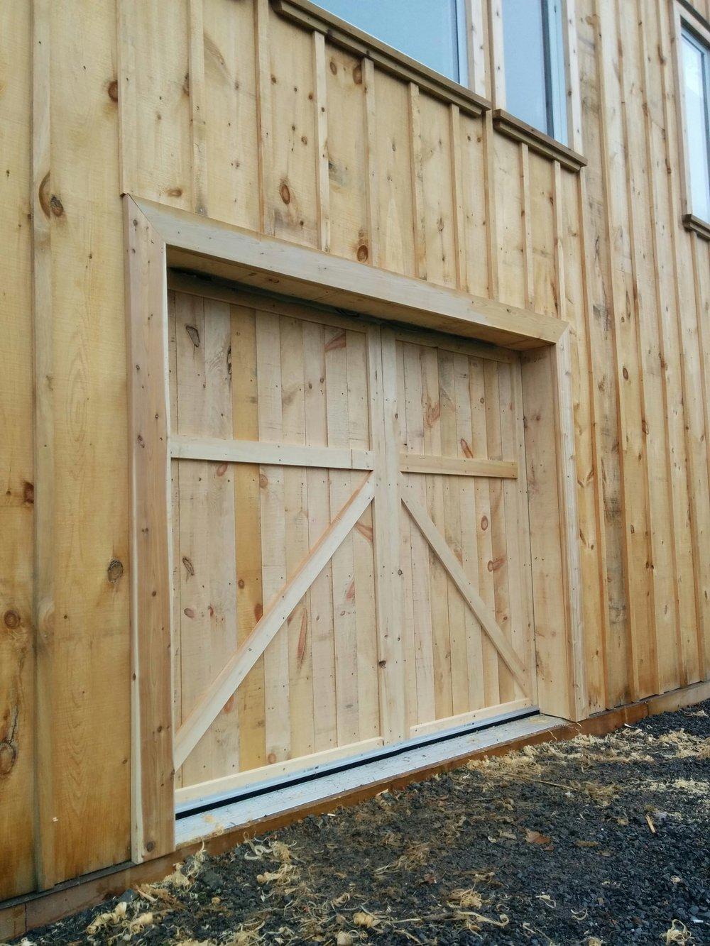 Board & Batten Barn Door