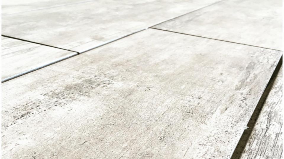 Radiant Flooring, Porcelain Woodgrain Tile