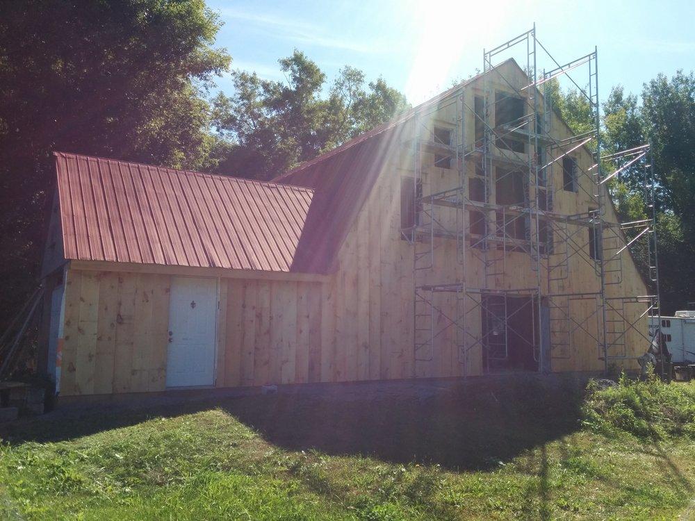 Barn Repurposing, Board & Batten