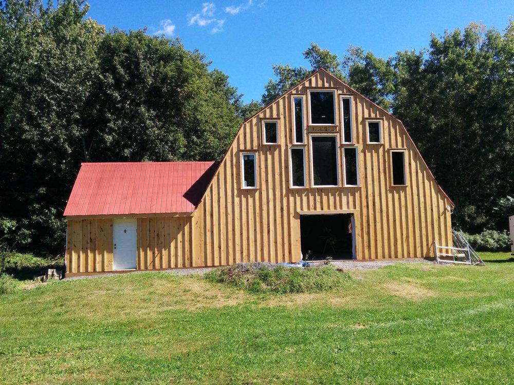 Board and Batten Barn, Windows