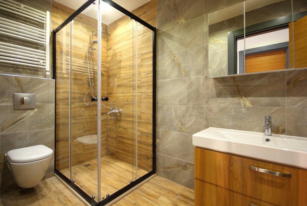 Bathroom Install, Tile