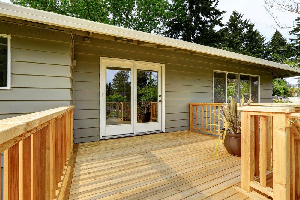 Wood Deck, Exterior Refurbish