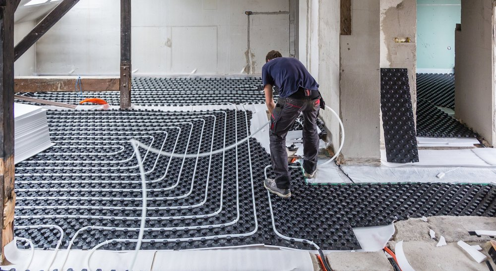 In-floor Radiant Heating Systems