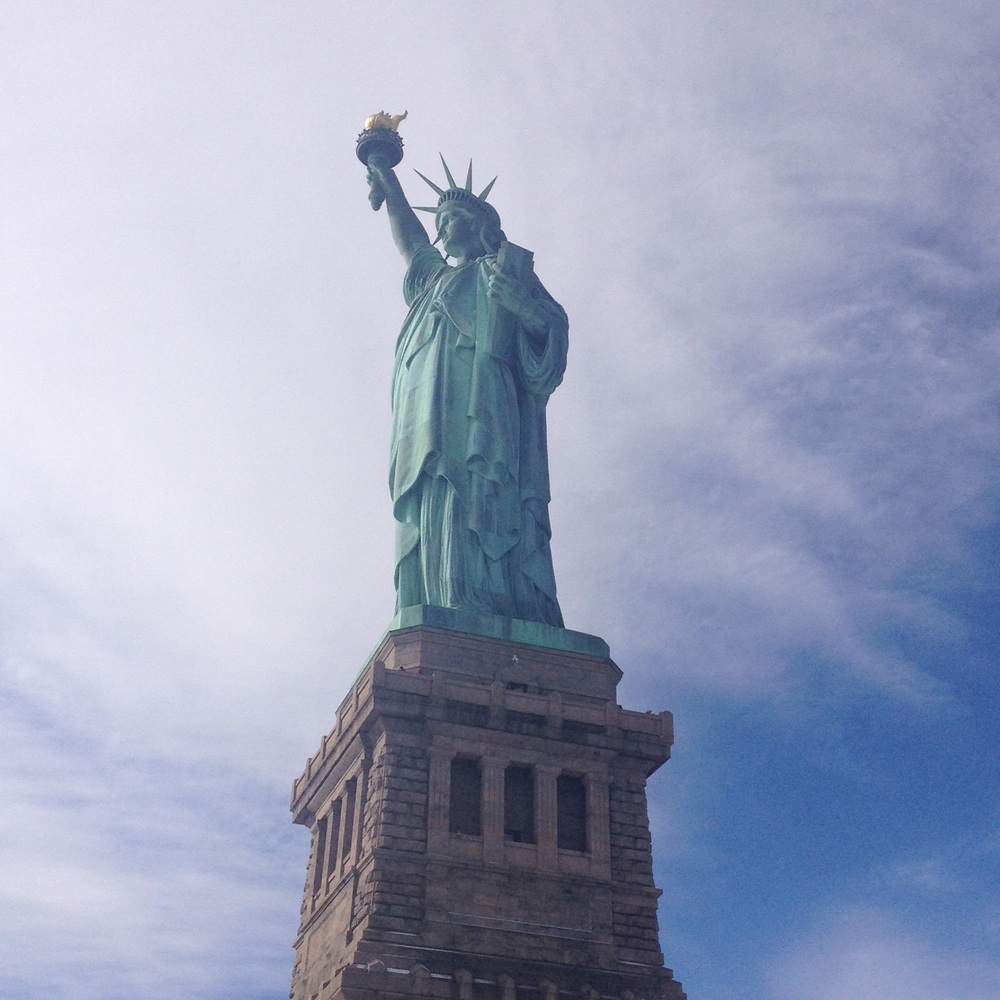 State of Liberty, NY (ok, not New England but she's earned the right)
