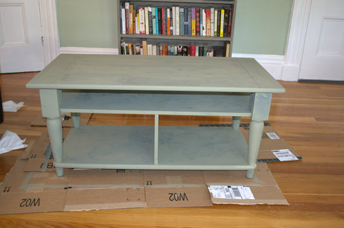 chalk paint in chateau grey chalk paint coffee table