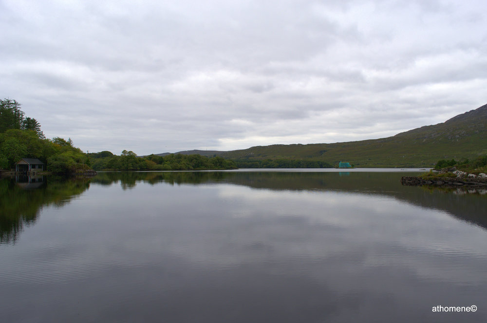 Ballyhanich Lake, Connemara, County Galway, Ireland