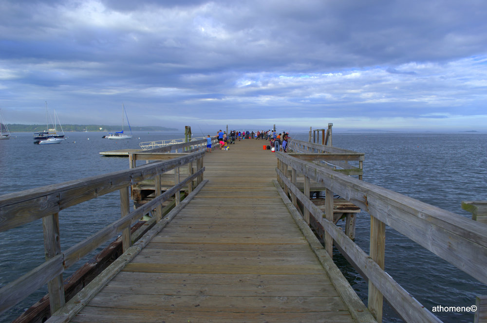 The pier at Salem Willows