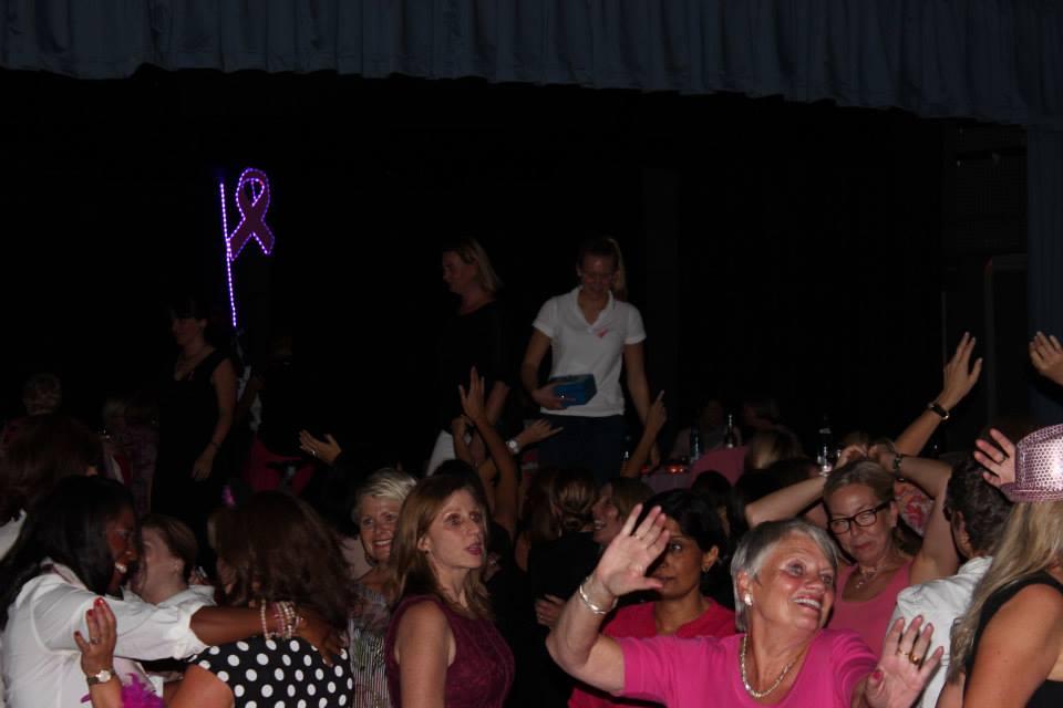 TP Ladies night dancing