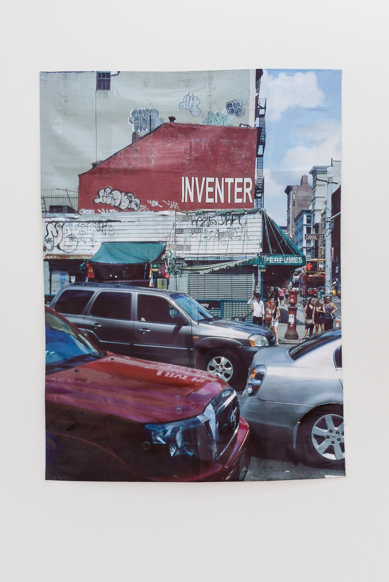 Inventer digital print on pvc 103.5 x 75 cm 2015
