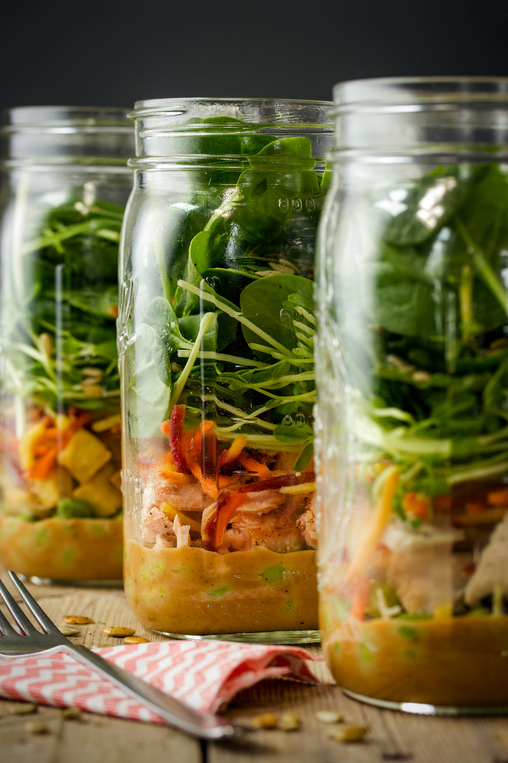 Three-Way Mason Jar Salad