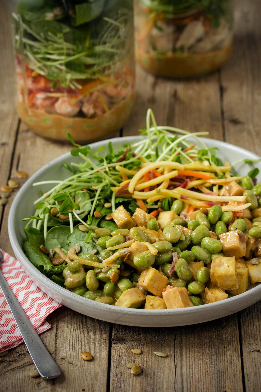 Three-Way Mason Jar Salad