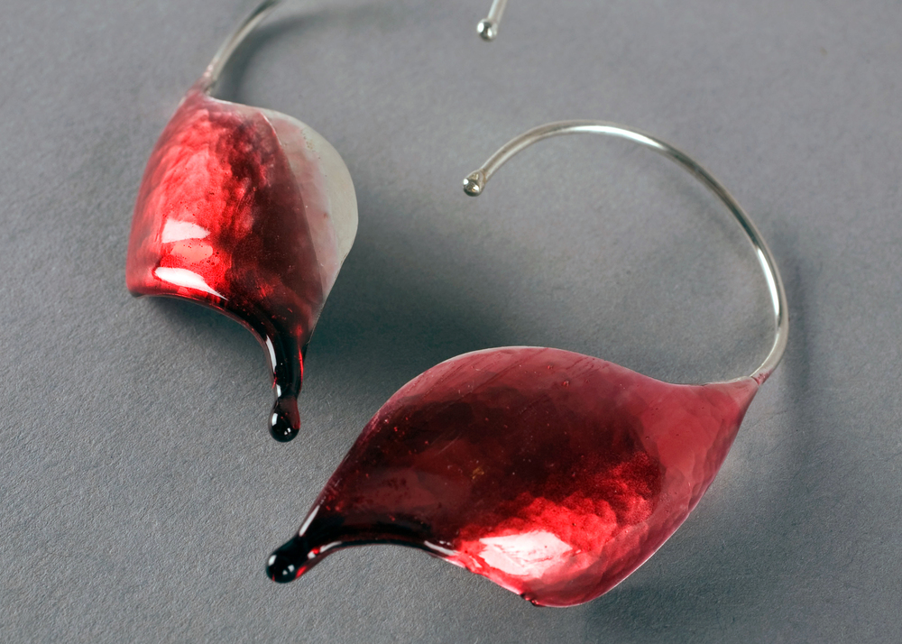 Drip Earrings detail