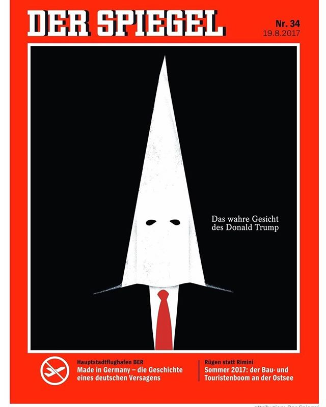 Der Spiegel's new magazine cover