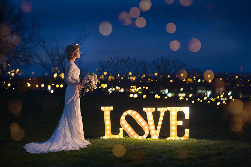 Amazing 10 acres overlooking the city lights of Kitchener.  Opening for 2018 weddings