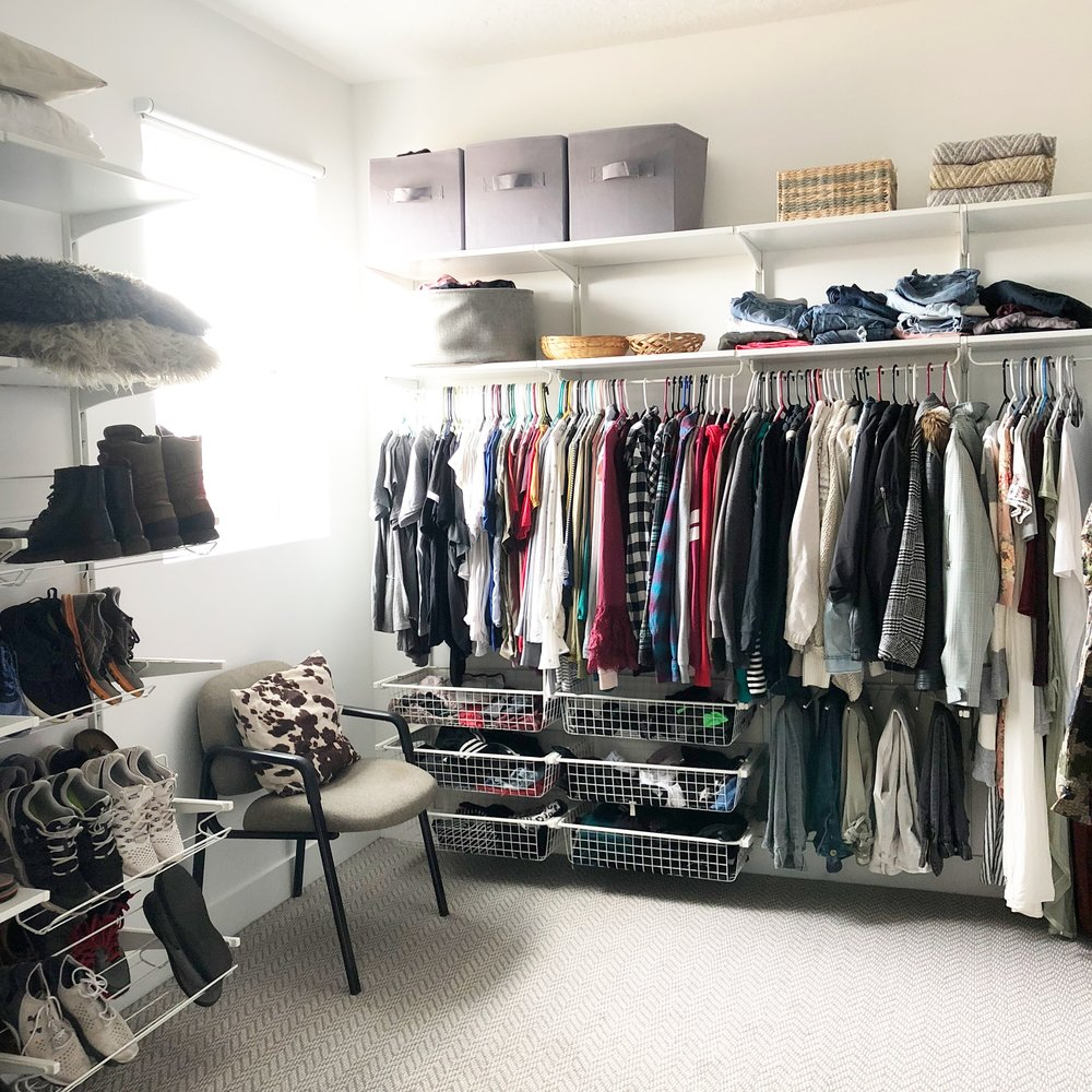 Ikea Algot closet -