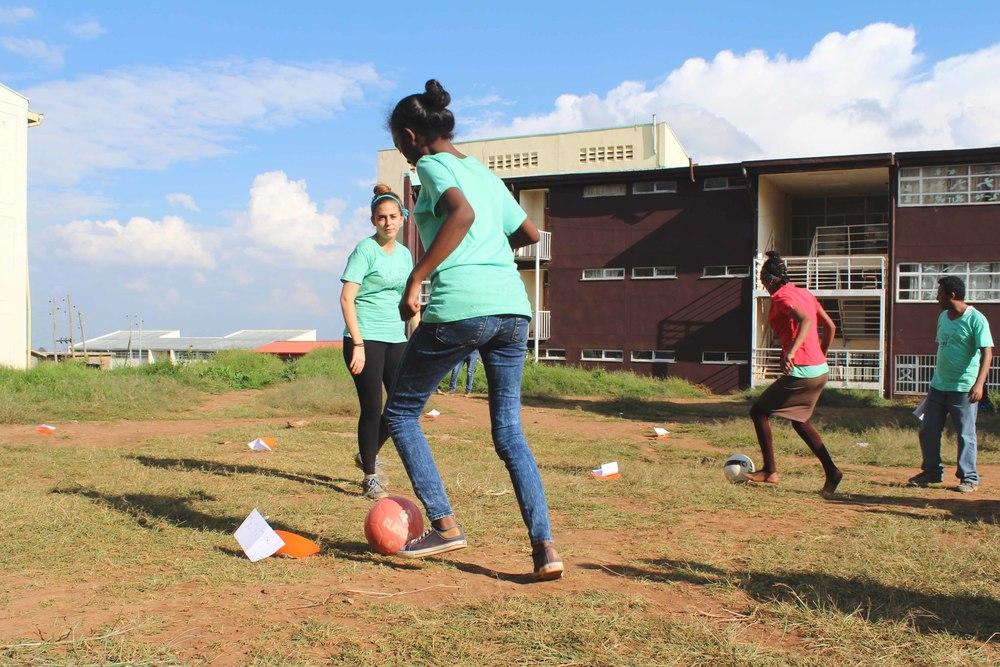 Grassroots Soccer.