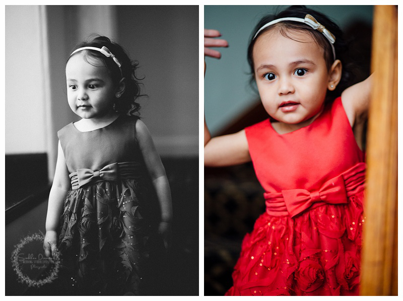 The most beautiful flower girl! She was a super model all day!