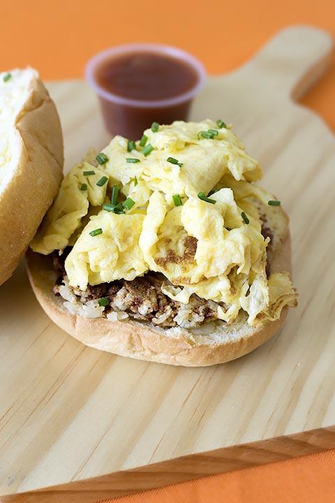 Breakfast Brioche Sandwich