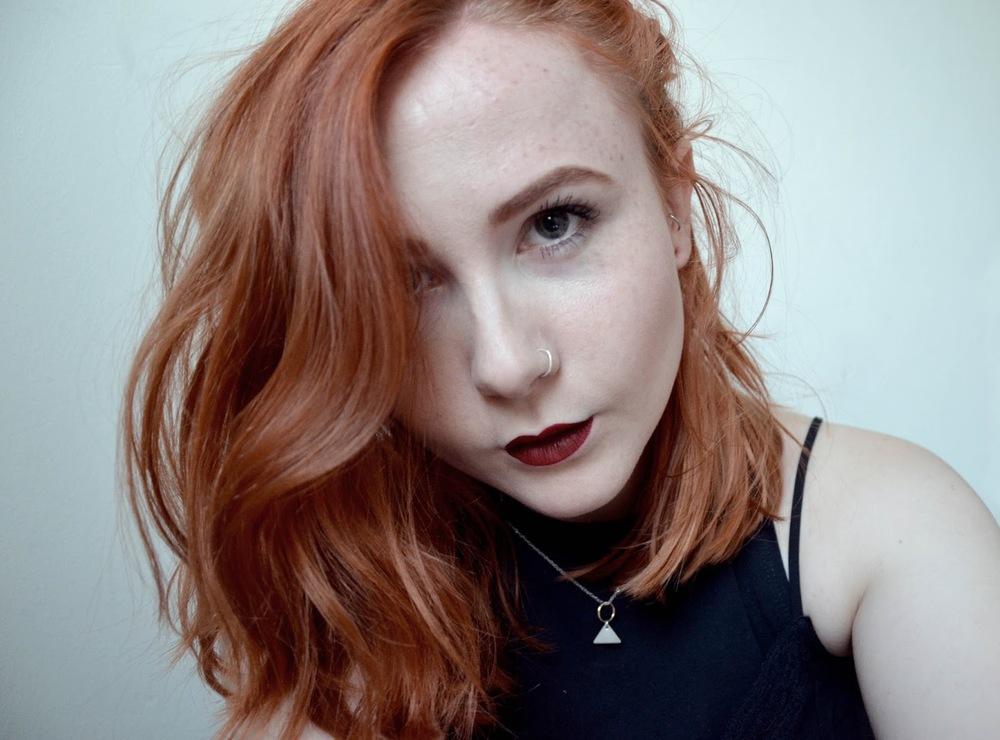 Femmenism Sarah Moore Beauty Makeup Ginger