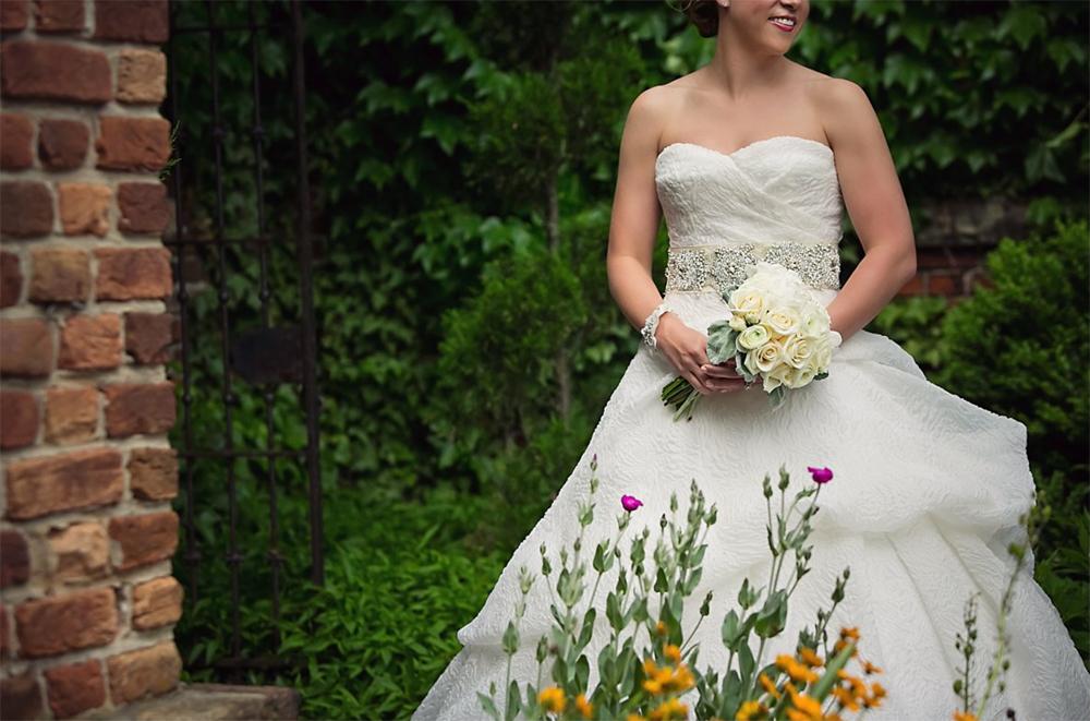 Alexia's Bridal Boutique Real Bride 1