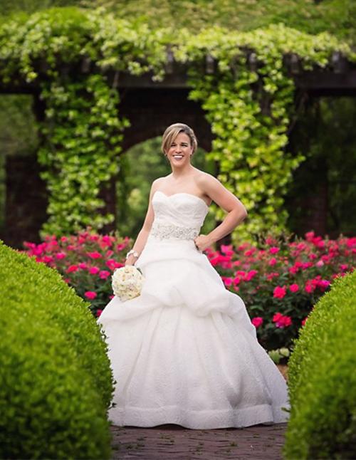 Alexia's Bridal Boutique Real Bride 2