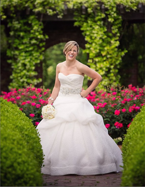 Alexia's Bridal Boutique Real Bride 3