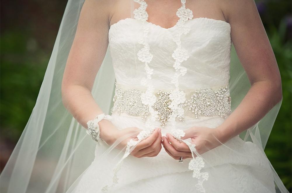 Alexia's Bridal Boutique Real Bride 5