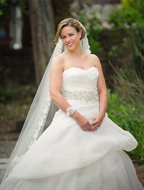 Alexia's Bridal Boutique Real Bride 6