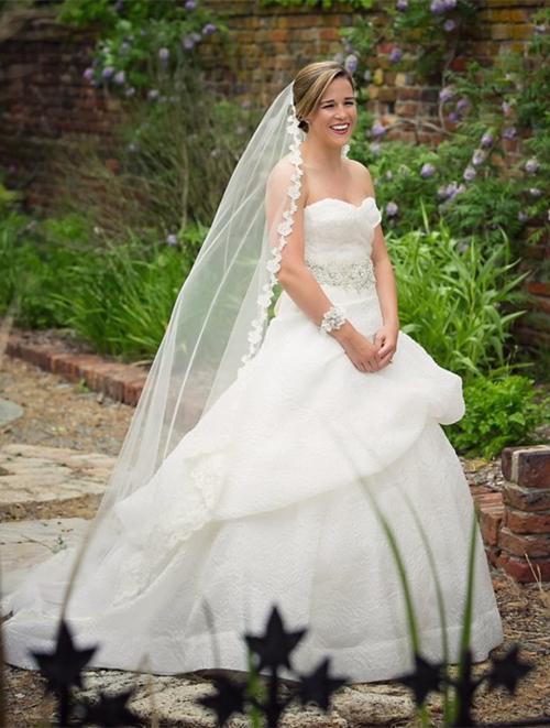 Alexia's Bridal Boutique Real Bride 7