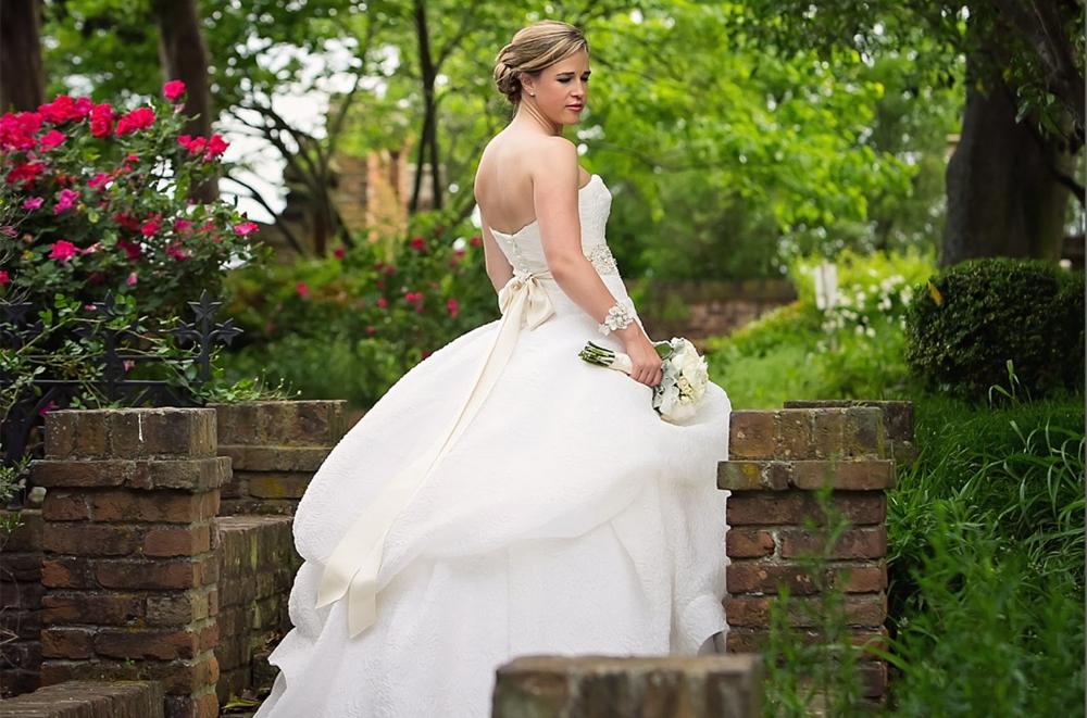 Alexia's Bridal Boutique Real Bride 4