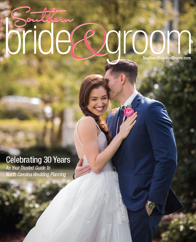 Southern Bride & Groom Magazine Cover