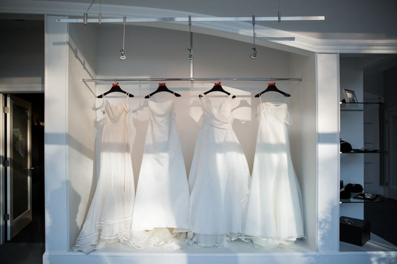 Austin Scarlett Gown Display
