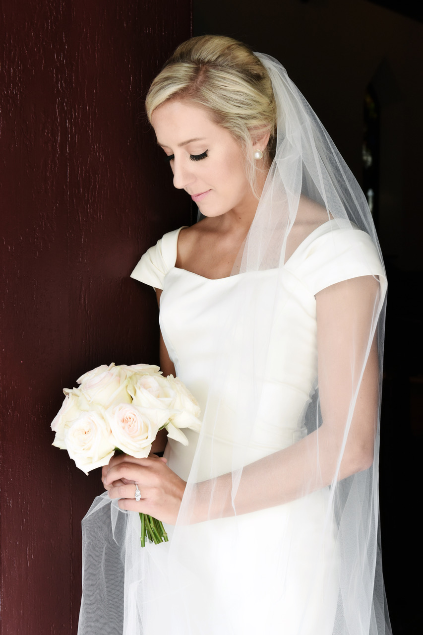 Alexia's Bridal Boutique Real Wedding