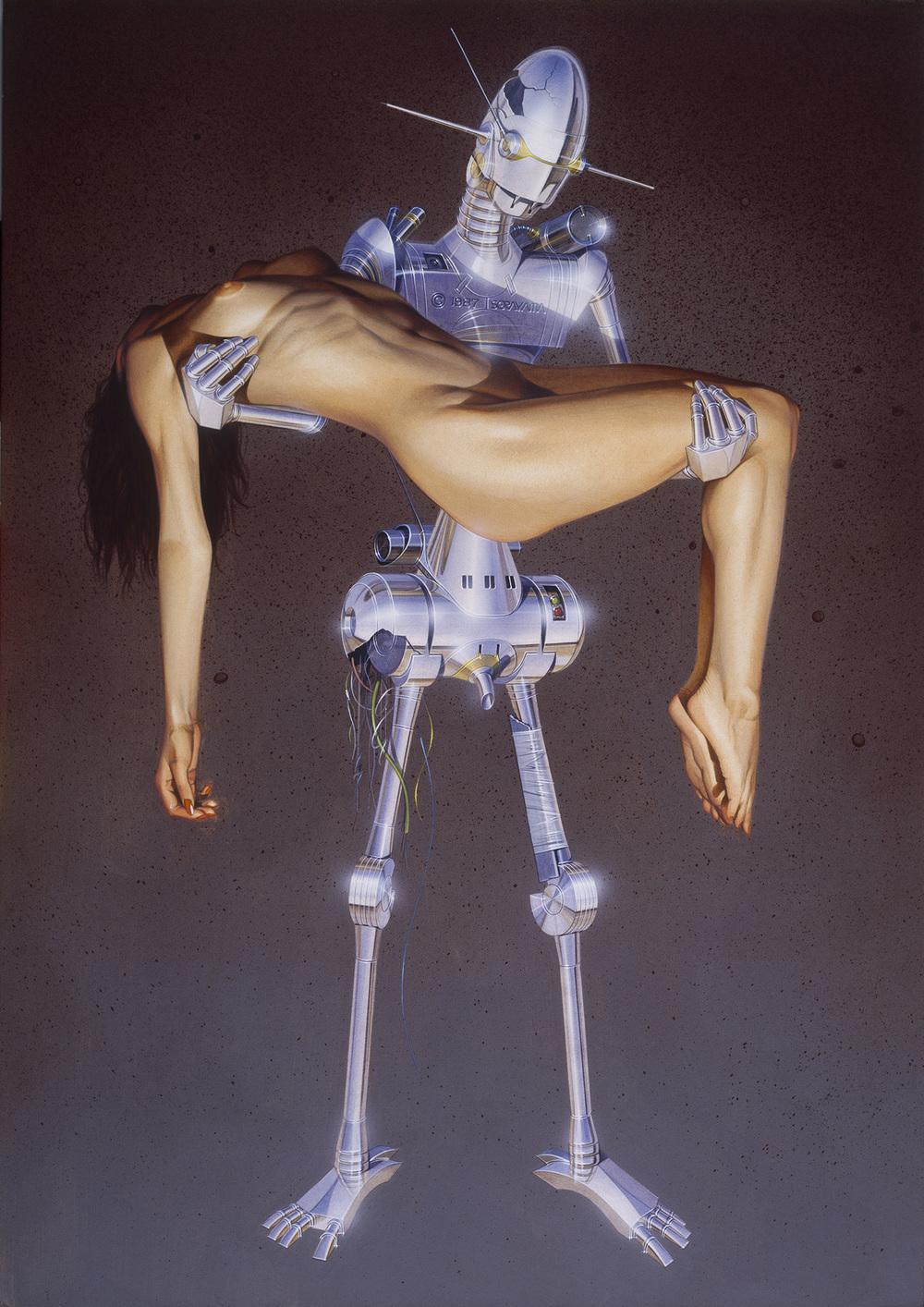 Nude robot woman porn hentai gallery