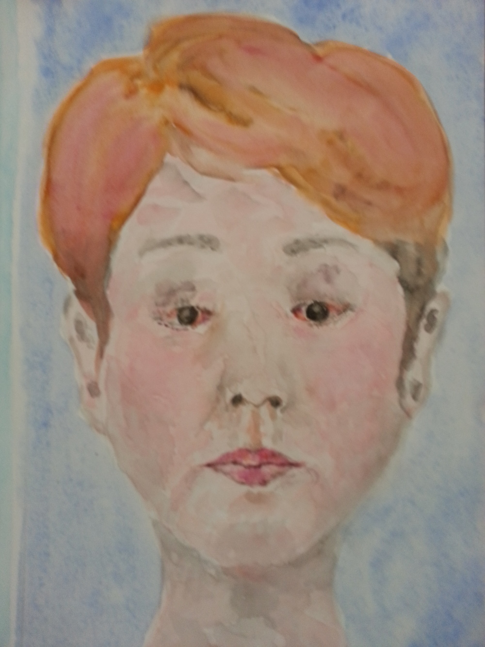 WATERCOLOR 7 - JANE CHOE & CRITTER