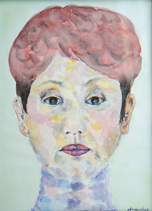 WATERCOLOR 13 - JANE CHOE & CRITTER