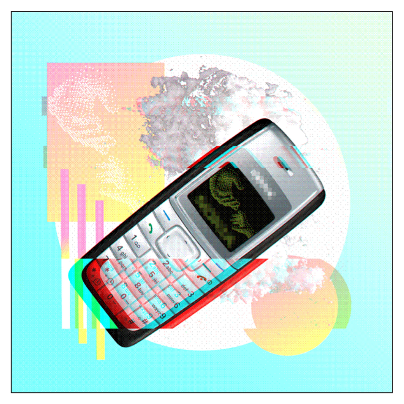GLITCHTECH PHONE BRICK - FRANKY AGUILAR