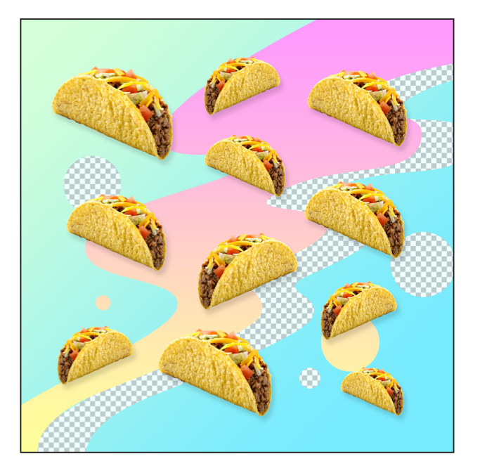 """DIGITAL JUNK FOOD - TACO"" - FRANKY AGUILAR"