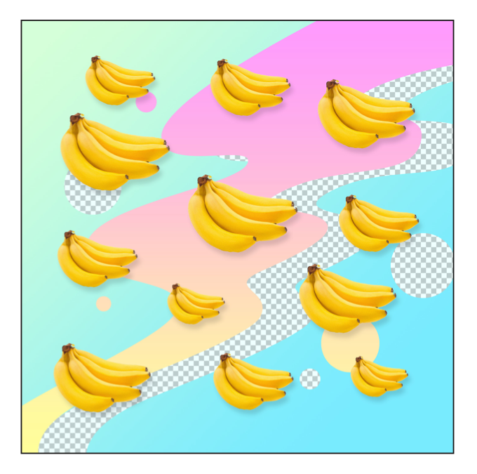 """DIGITAL JUNK FOOD - BANANAZ"" - FRANKY AGUILAR"