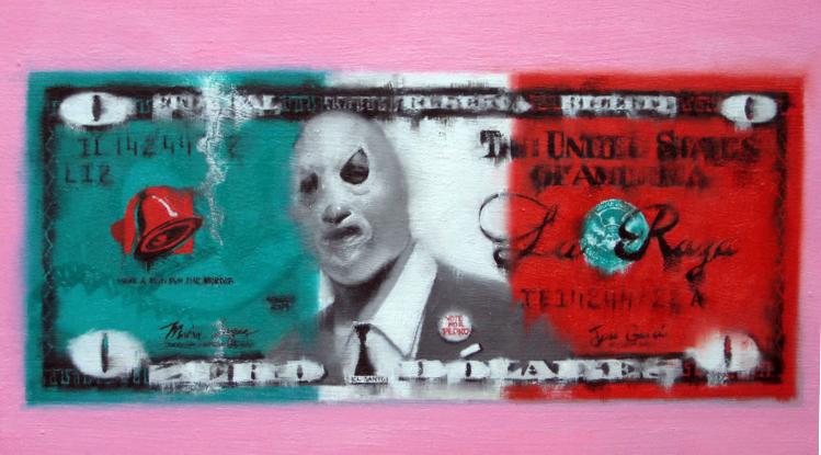 LATINO DOLLAR BILL - AKIRA BEARD