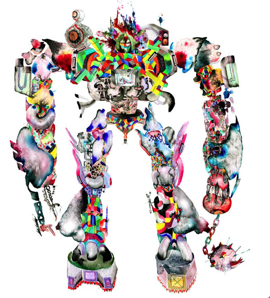 David-Choe-Choebot-Fifty24SF-Gallery