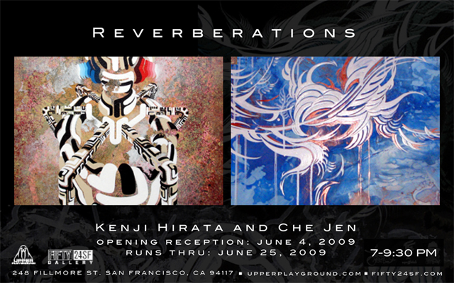 REVERBERATIONS BY CHE JEN & KENJI HIRATA @ FIFTY24SF