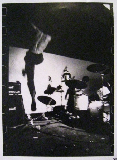 Back album cover for Fugazi's first album