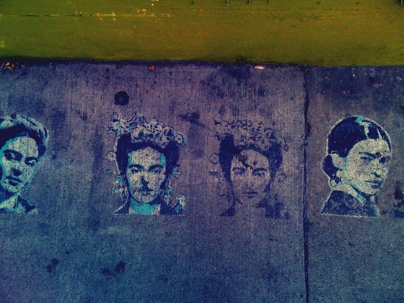 Frida Stencil
