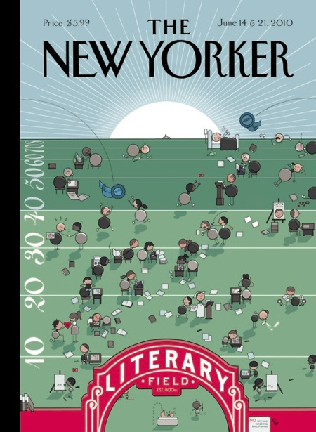 Chris Ware New Yorker cover