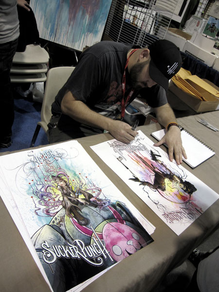 comic con alex pardee