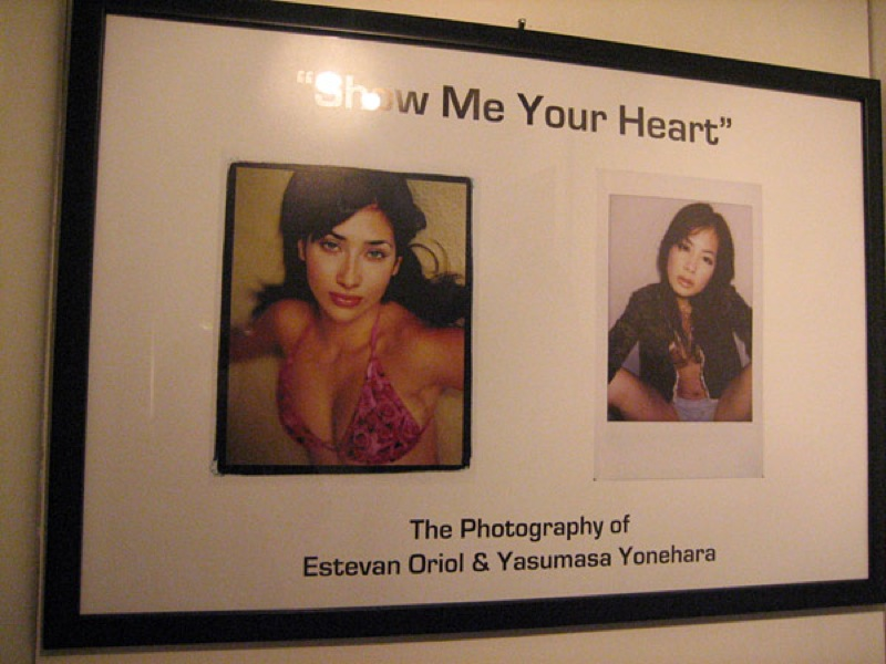 ESTEVAN ORIOL-YASUMASA YONEHARA-FIFTY24SF-SHOW ME YOUR HEART