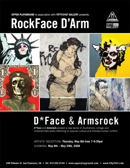 D*face-Armsrock-Orchestrated Oddities-FIFTY24SF