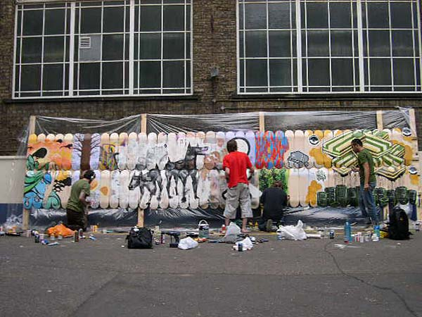 UPPER PLAYGROUND UK TRIP WITH DAVID CHOE-SAM FLORES-GALO-THE LONDON POLICE-DYLAN MADDUX