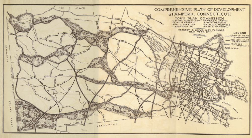 Herbert Swan's Comprehensive Plan for Stamford